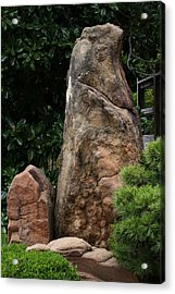 Acrylic Print featuring the photograph Teeny Weeny And Biggy Wiggy - Rock Formations by Debi Dalio