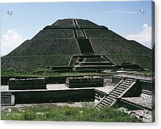 Teotihuacan Acrylic Print by Archive Photos