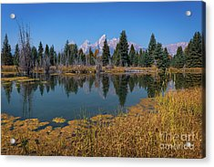 Tetons Majesty Acrylic Print