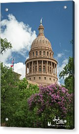 Texas Capital Building Acrylic Print