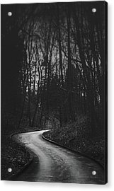 That Lonesome Road Acrylic Print
