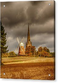 Acrylic Print featuring the photograph Thaxted Village by Chris Cousins