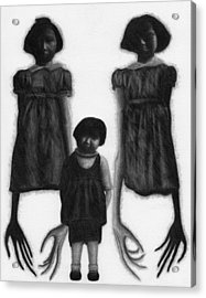 The Abberant Sisters - Artwork Acrylic Print
