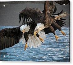 The Aerial Joust Acrylic Print