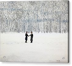 The Agreement Acrylic Print