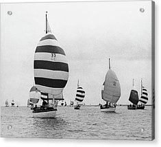 The Annual Regattas Of Burnham, England Acrylic Print