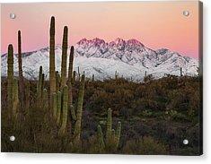 The Arizona Alps Acrylic Print