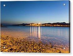 The Beach Of Playa De El Castillo Acrylic Print by Maremagnum