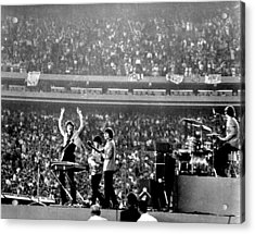 The Beatles Acrylic Print by Michael Ochs Archives