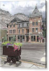 The Beaumont Hotel Acrylic Print