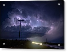 Acrylic Print featuring the photograph The Best Supercell Of The Summer 043 by NebraskaSC