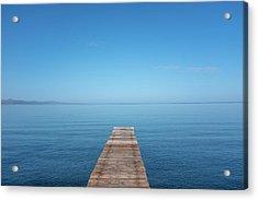 The Big Deep Blue Acrylic Print