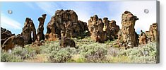 Arches Hoodoos And Castles The Big Picture Little City Of Rocks Acrylic Print