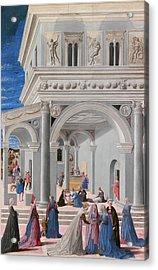 The Birth Of The Virgin. Acrylic Print
