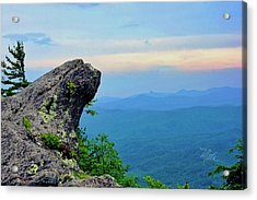 The Blowing Rock Acrylic Print