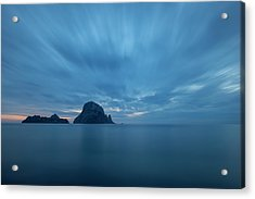 The Blue Hour In Es Vedra, Ibiza Acrylic Print