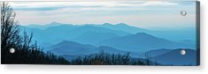 Acrylic Print featuring the photograph The Blue Ridge Mountains by Mark Duehmig