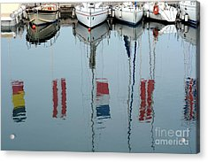 The Boat And The Reflection Acrylic Print