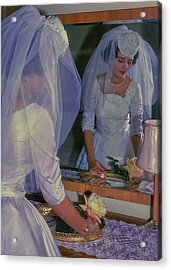 The Bride Acrylic Print by JAMART Photography