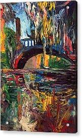 The Bridge At City Park New Orleans Acrylic Print