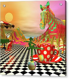 The Candy Store Acrylic Print