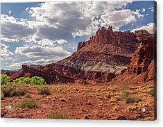 The Castle At Mummy Cliffs Acrylic Print