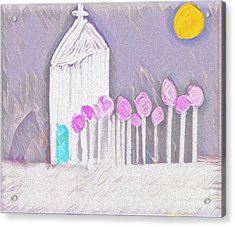 The Chapel Acrylic Print