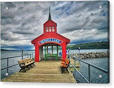 Acrylic Print featuring the photograph The Charm Of Seneca Lake - Finger Lakes, New York by Lynn Bauer