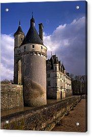 The Chateau De Chenonceau On Loire Acrylic Print