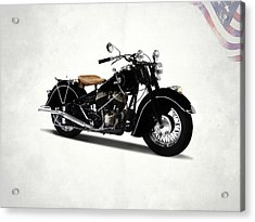 The Chief 1946 Acrylic Print