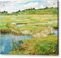 The Concord Meadow - Digital Remastered Edition Acrylic Print
