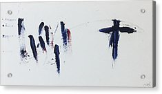 The Cross Alone Acrylic Print by Tom Atkins