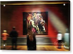 The Deposition Of Christ Acrylic Print by Steven Digman