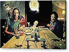 The Dinner Scene - Texas Chainsaw Acrylic Print