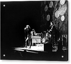 The Doors At The Fillmore East Acrylic Print by Fred W. McDarrah