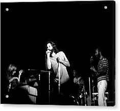 The Doors Live Acrylic Print by Larry Hulst