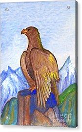 The Eagle Acrylic Print