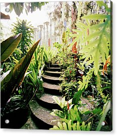 The Edward James Surrealist Gardens At Acrylic Print