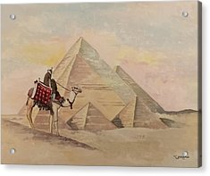 The Egyptian Pyramids Acrylic Print