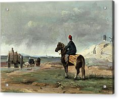 The Farmer Of Pithiviers Acrylic Print