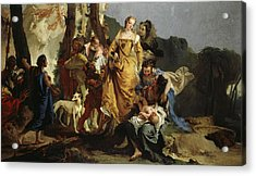 The Finding Of Moses, 1730 Acrylic Print