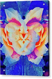 The Flower King Acrylic Print