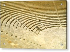 The Fragment Of Ancient Theatre In Acrylic Print