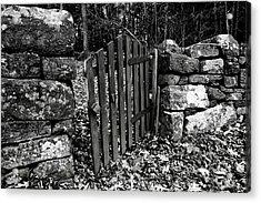 The Garden Entrance Acrylic Print