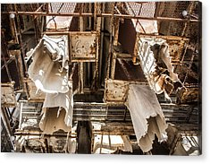 The Ghost Of Factories Past Acrylic Print