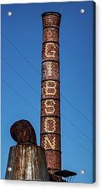 The Gibson Smokestack Acrylic Print