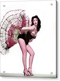 The Girl In The Spanish Dress Acrylic Print