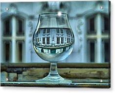 The Glass - Living Upside Down Acrylic Print