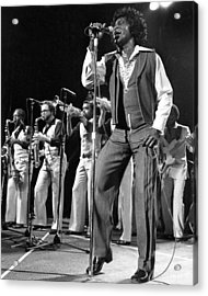 The Godfather Of Soul James Brown Acrylic Print by New York Daily News Archive