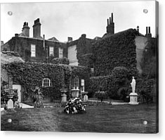 The Grange Acrylic Print by Hulton Archive